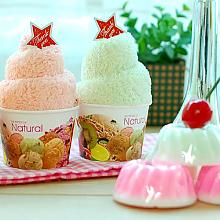 아이스크림 극세사타올&수제머핀비누*무료포장*