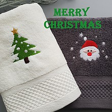 크리스마스  타올 2p세트(기획상품)