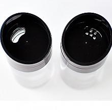 글라스 원형미니 소금&후추통 2조세트(100ml)