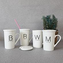 카페 뚜껑 머그1p (뚜껑+머그)