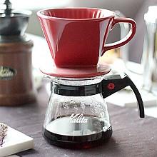 커피 드립퍼(레드)