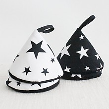 별빛 고깔주방장갑