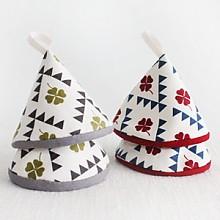 네잎크로버 고깔주방장갑
