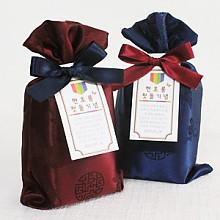전통리본보자기 맛담 갯벌 천일염/함초