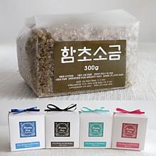 고급리본비닐팩 맛담 함초소금300g