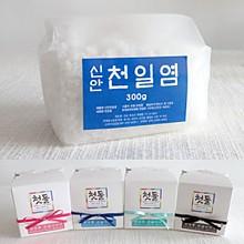 전통리본비닐팩 맛담 천일염300g