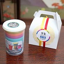 피크닉컵 전통 도일리