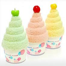 롱 아이스크림 극세사 타올
