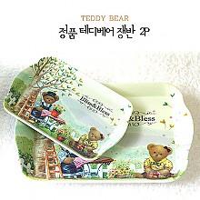 테디베어 쟁반 2p(정품)*무료포장*