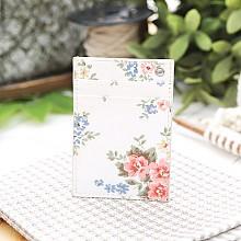 꽃 목걸이형 카드지갑(흰색)*고객감동*